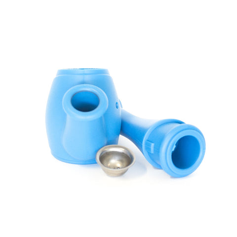 BONG - LIGHT BLUE SILICONE WATERING POT