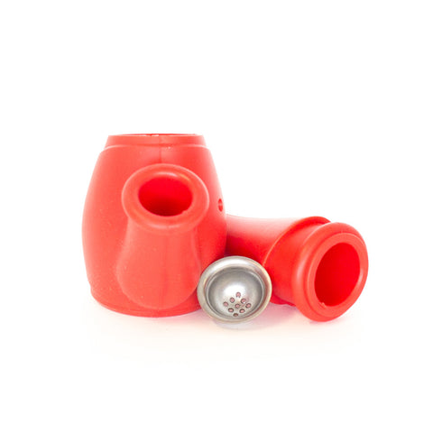 BONG - RED SILICONE WATERING POT