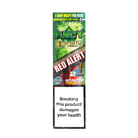 JUICY JAY'S HEMP WRAPS STRAWBERRY - 2 PACK
