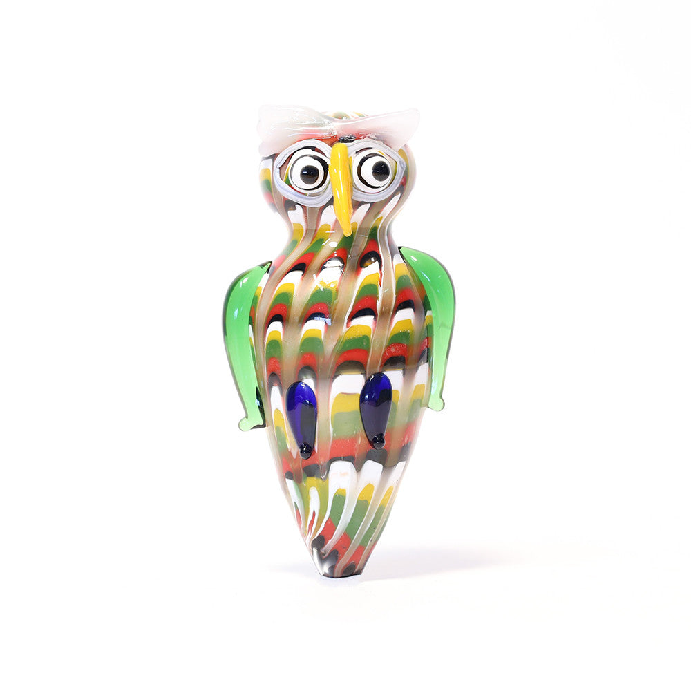 GLASS OWL PIPE
