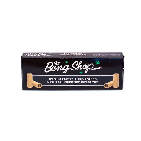 THE BONG SHOP PAPERS & TIPS BOX