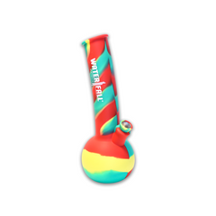 THE CHERRY BOMB SILICONE BONG (RASTA)