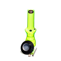 PLANET X CONTROL STICK GREEN ACRYLIC BONG