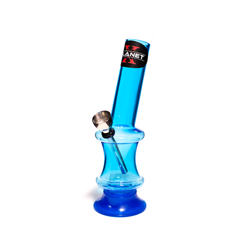 PLANET X THE FLUX BLUE ACRYLIC BONG