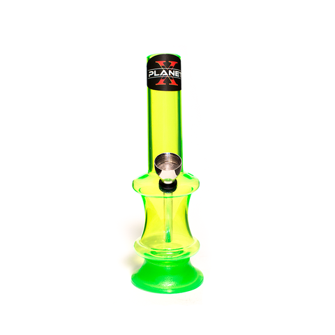 PLANET X THE FLUX GREEN ACRYLIC BONG