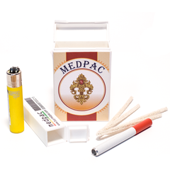 MEDPAC STASH KIT & CONTAINER (BROWN)