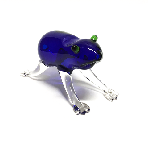 GLASS FROG PIPE