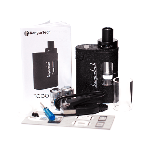 KANGERTECH TOGO MINI STARTER KIT - BLACK