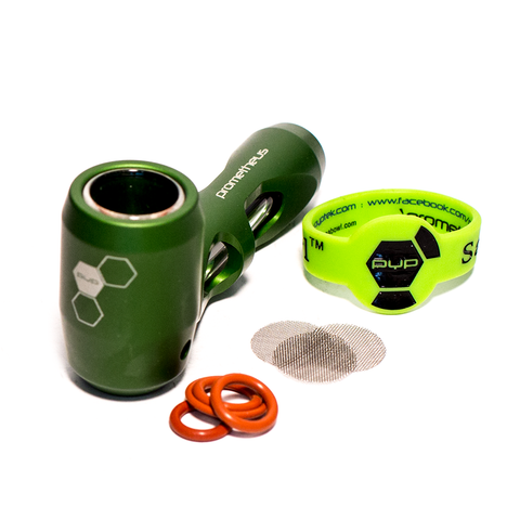 PYPTEK - PROMETHEUS ORIGINAL POCKET PIPE - GREEN