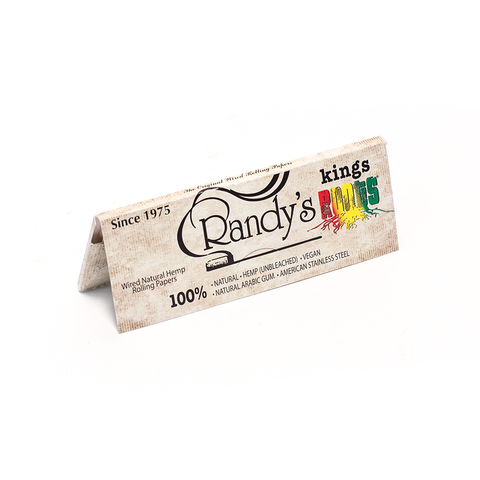 RANDY'S ROOTS KING ORGANIC HEMP PAPERS