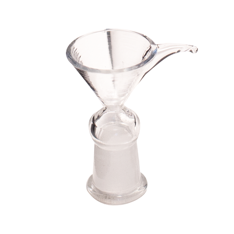 GLASS PULL CONE FUNNEL SHAPED