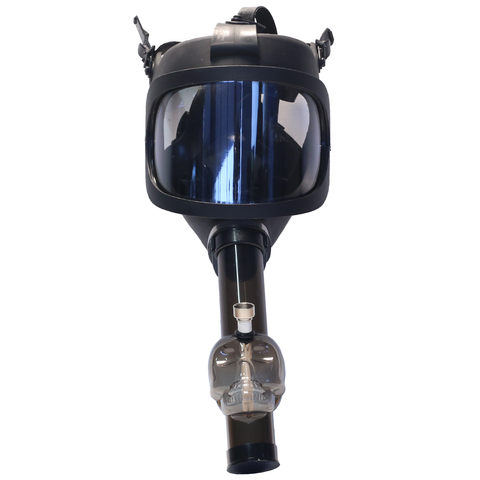 GAS MASK BONG - BLACK