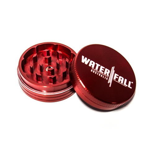 WATERFALL - 90mm CNC 2 PART GRINDER - RED