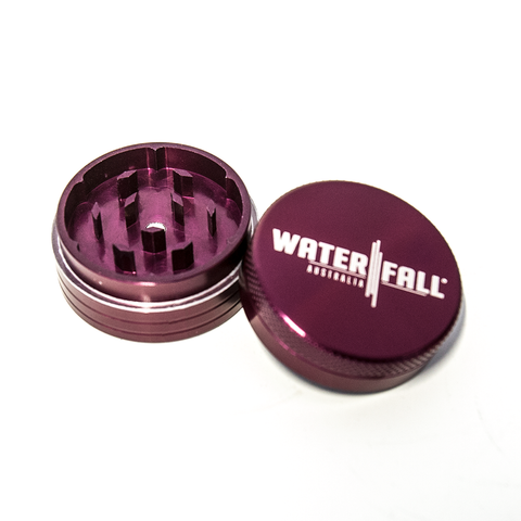 WATERFALL - 75mm CNC 2 PART GRINDER - PURPLE