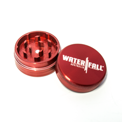 WATERFALL - 75mm CNC 2 PART GRINDER - RED