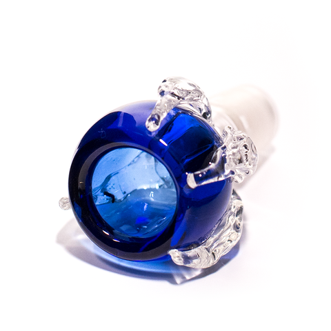 GLASS CONE - BIRD CLAW 18MM BLUE