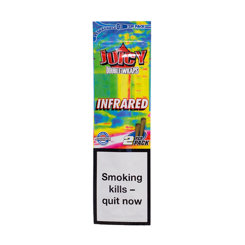 JUICY JAY'S HEMP WRAPS INFRARED - 2 PACK
