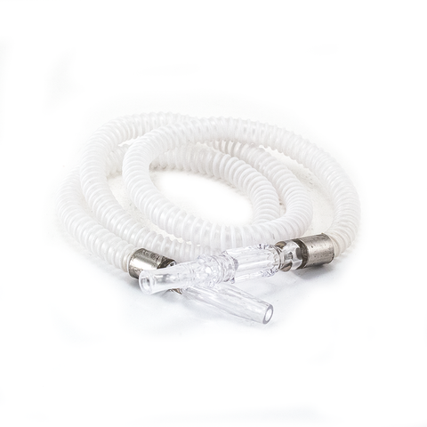 SPARE HOOKAH HOSE - 1M - BLACK OR WHITE