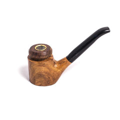 PIPE - WOODEN PLAIN BOWL W/ASST STEM