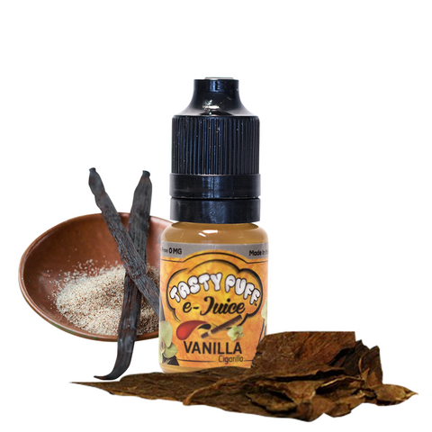 E-JUICE - VANILLA CIGARILLO