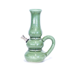 CERAMIC BONG -  ALADDIN GREEN