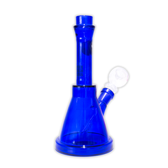 WATERFALL - BLUE SOLID FLASK