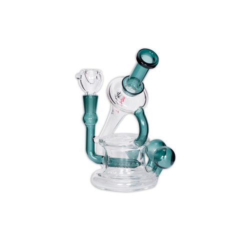 PLANET X  - VULCAN - GLASS MINI BONG