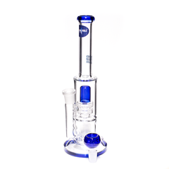 WATERFALL - BLUE ALERT - ALL GLASS BONG