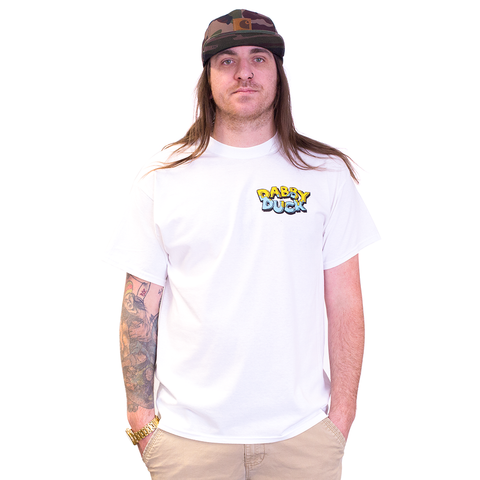 TSHIRT - DABBY DUCK HIGHLINES WHITE