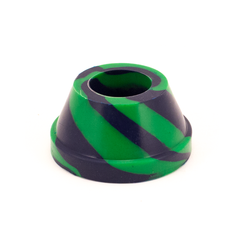 WATERFALL - ZAP SQUASH - GREEN/BLUE SILICONE BASE