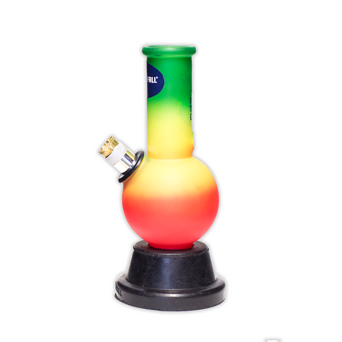 WATERFALL - PIPSQUEAK RAINBOW GLASS BONG