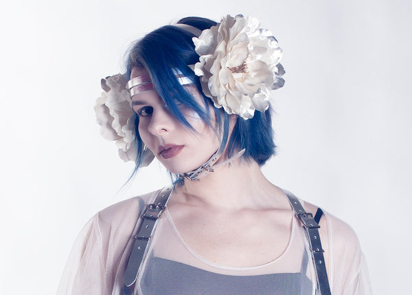 Aphrodite Floral Harness Headpiece