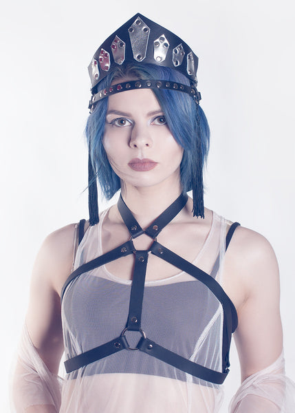 Duality Harness Halter Bra Top