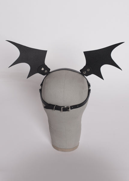 Bat Wings Harness Headpiece