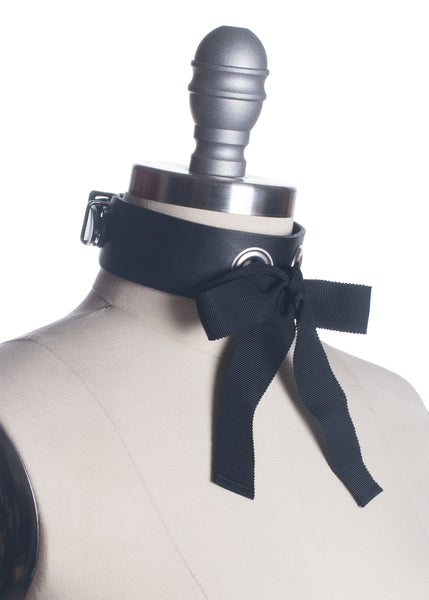 Josie Ribbon Bow Choker Collar