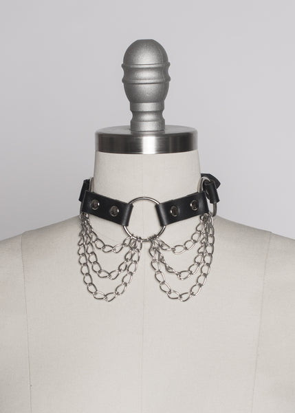 Chained Choker Collar
