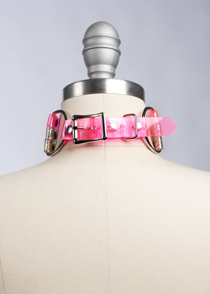 Colorblock Choker Collar