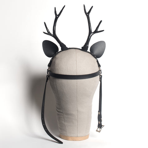 Deer Antlers Harness Headpiece