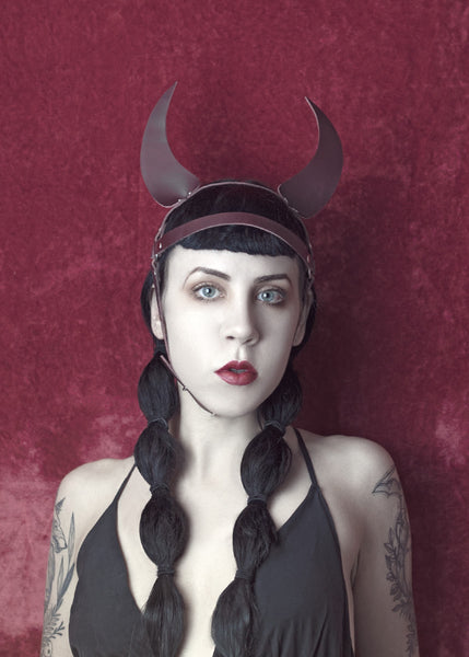 Harness Demon Devil Horns Harness Headpiece - APATICO - 5