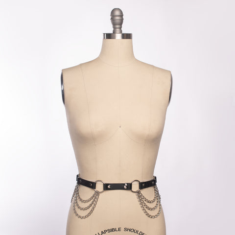 Draped Chain Belt