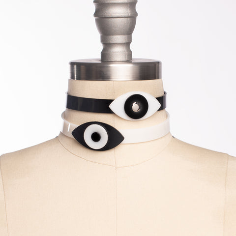 Eye See You Choker Collar