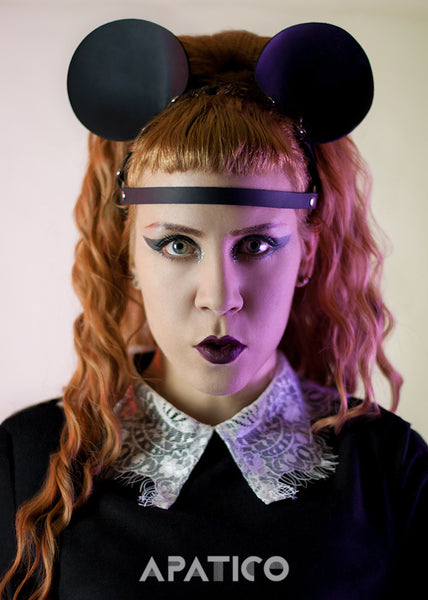 HARNESS MOUSE EARS HEADPIECE - APATICO - 4