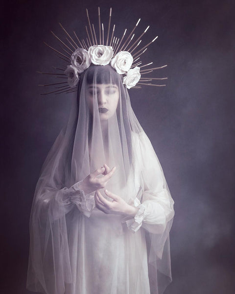 Katrina Halo Crown Headpiece