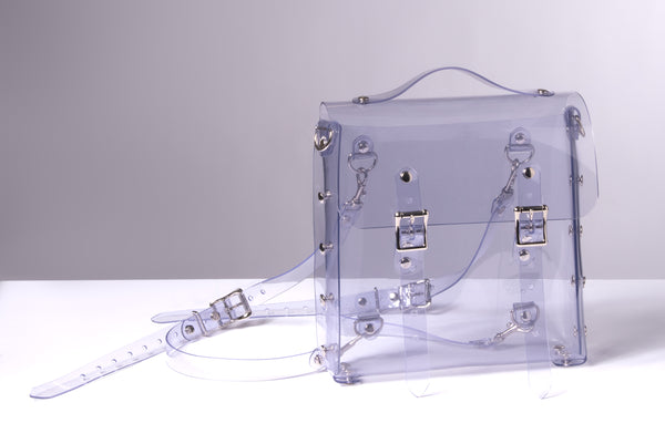 Clear Harness Mini Backpack Bag