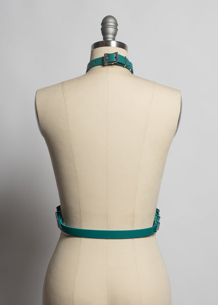 Colorful Leather Svelte Harness
