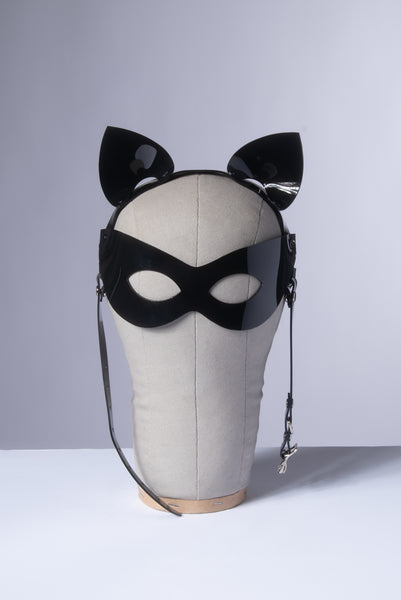 Harness Cat Ears Mask Headpiece