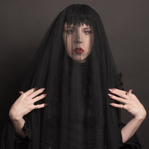 Harness Veil Headpiece