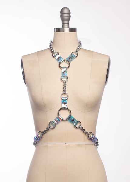 Holographic Industrial Chained Harness