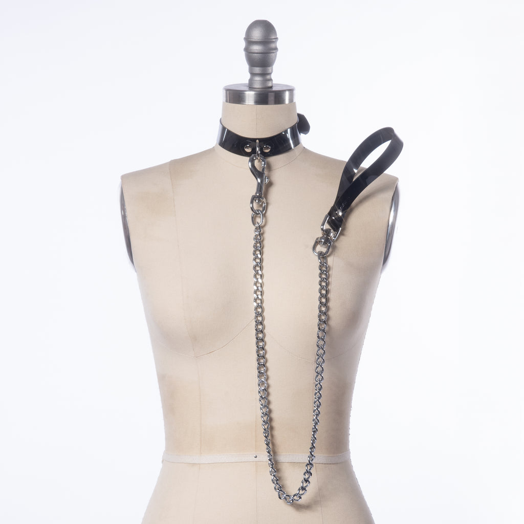 Chain Leash & Collar Set
