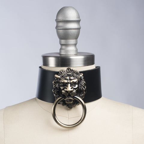 XL Leo Lion Choker Collar
